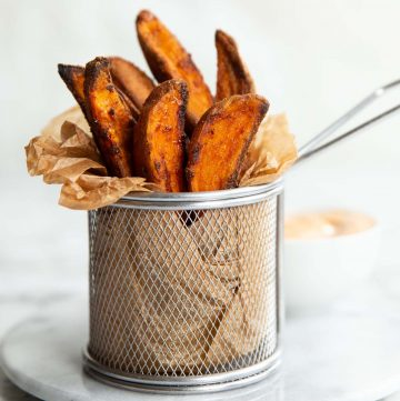 Crispy Baked Sweet Potato Wedges