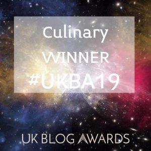Chris Collins UK Blog Awards Winner