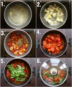 How to make tomato soup - 6 step by step photos