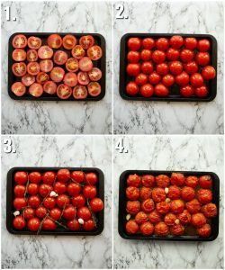 How to roast tomatoes - 4 step by step photos